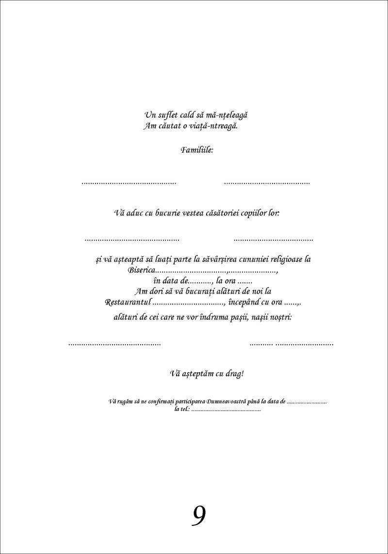 Invitatii De Nunta Related Keywords Suggestions Invitatii De